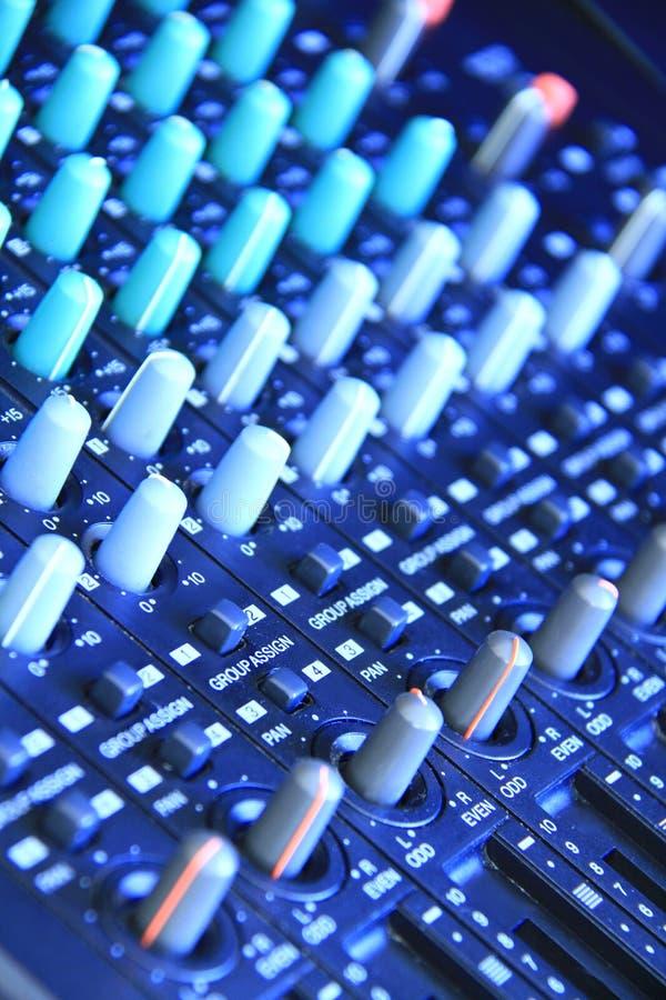 Download Music mixer stock image. Image of audio, adjuster, closeup - 21007407