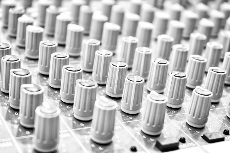 Download Music Mixer. stock photo. Image of electronics, levels - 33067086
