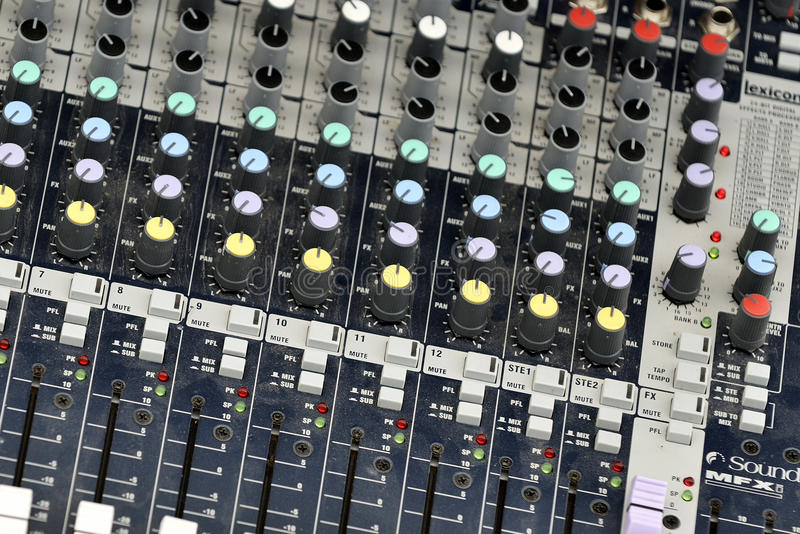 Download Music Mixer Stock Photos - Image: 34733483
