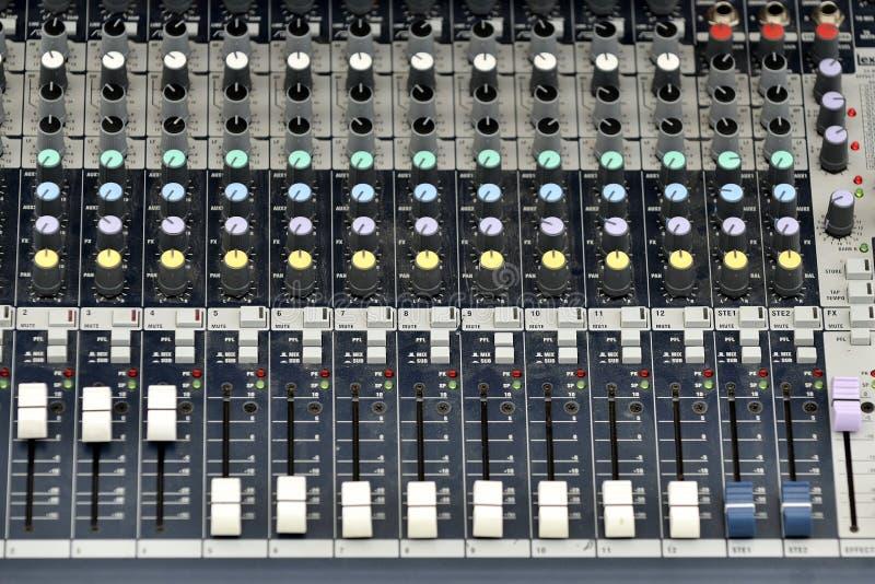 Download Music Mixer stock illustration. Image of mixer, board - 34733525