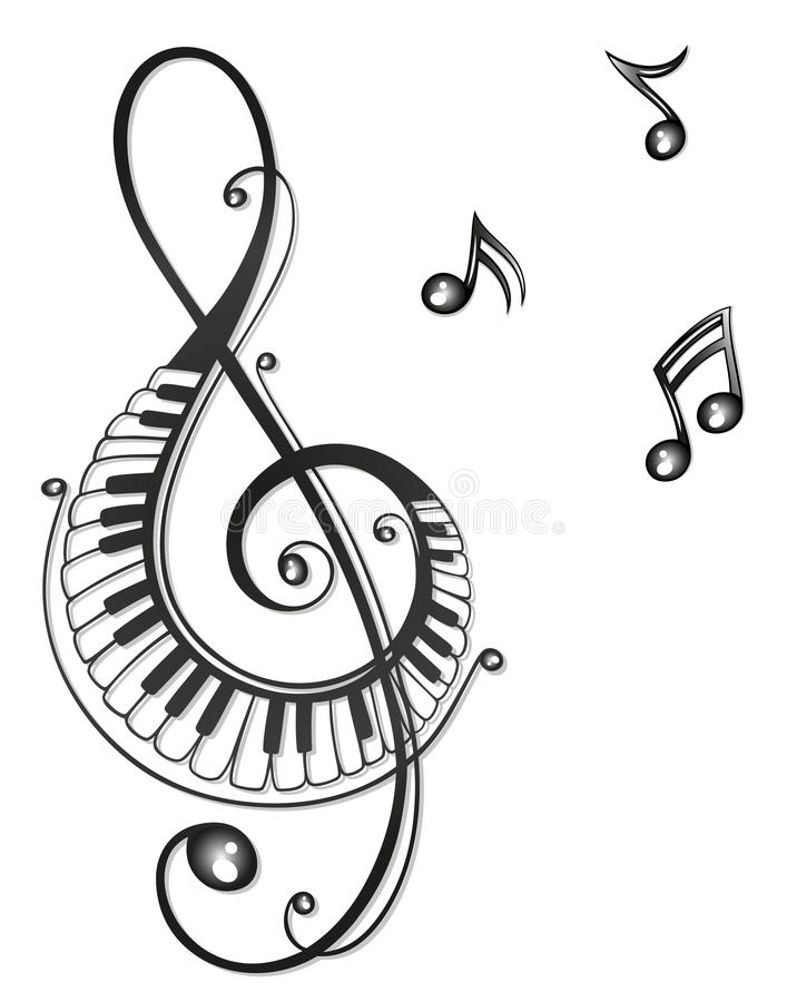 Free Music, Music Notes, Clef Stock Image - 33576801