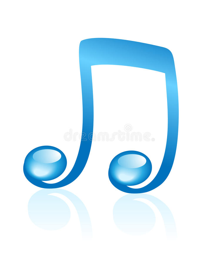 Download Music note stock vector. Image of musicial, melody, curve - 14150097