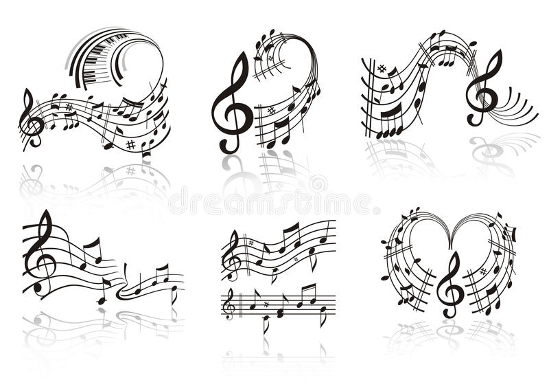 Music Note. Image for design