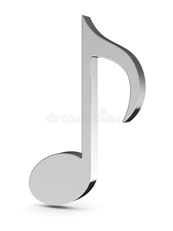 Download Music note stock illustration. Image of piano, icon, gray - 25088448