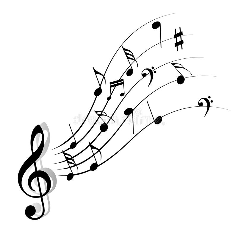 Free Music Note Royalty Free Stock Photos - 49688888