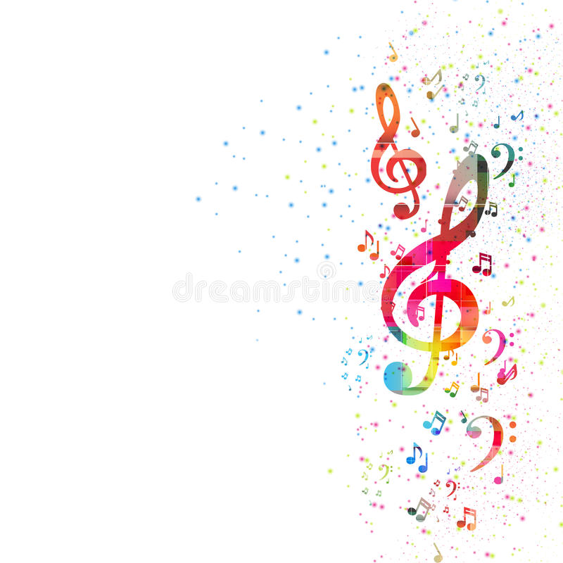 Free Music Note Background Stock Photo - 35341040