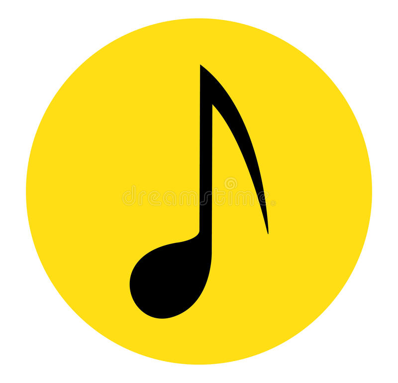 Music Note Icon royalty free illustration
