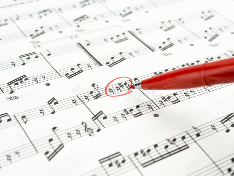 Download Music note sheet stock image. Image of clef, letter, bass - 27507749