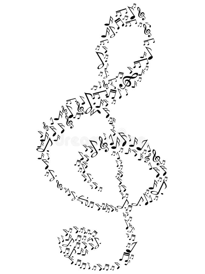 Free Music Note Symbol Royalty Free Stock Photography - 38500747