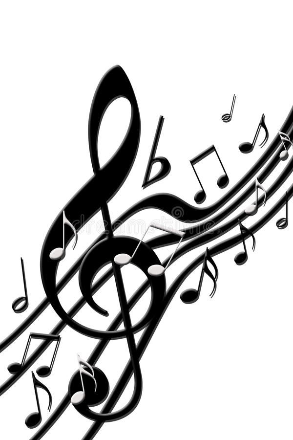 Free Music Notes Stock Photography - 11989782