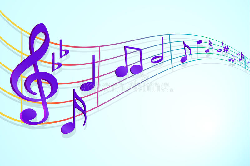 Download Music notes stock illustration. Image of sheet, compose - 13368703