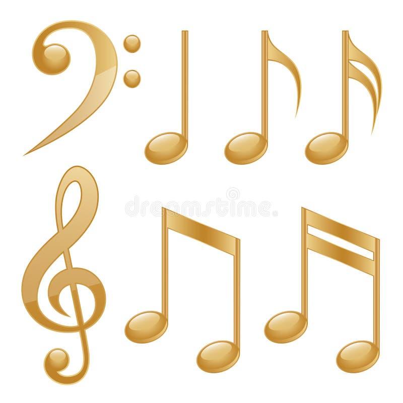 Music Notes Royalty Free Stock Photos