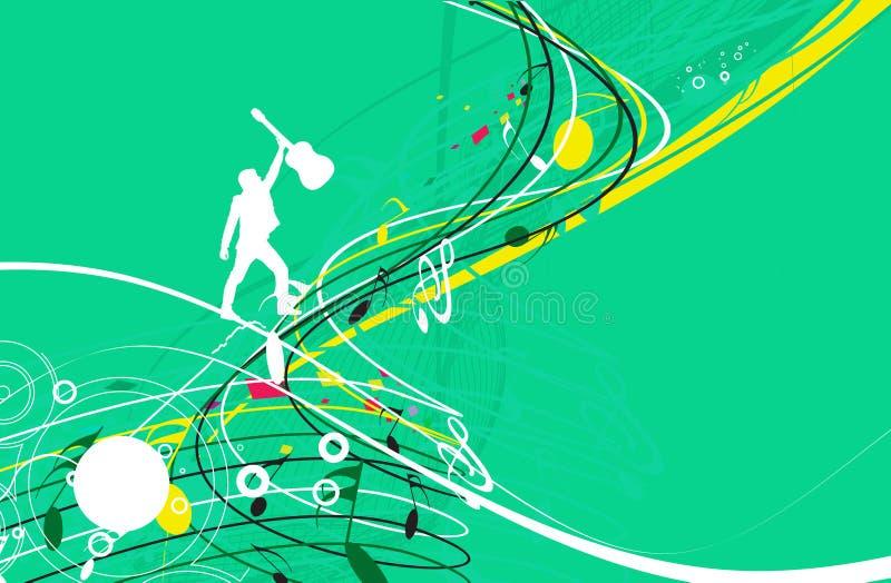 Music notes. For design use, illustration vector illustration