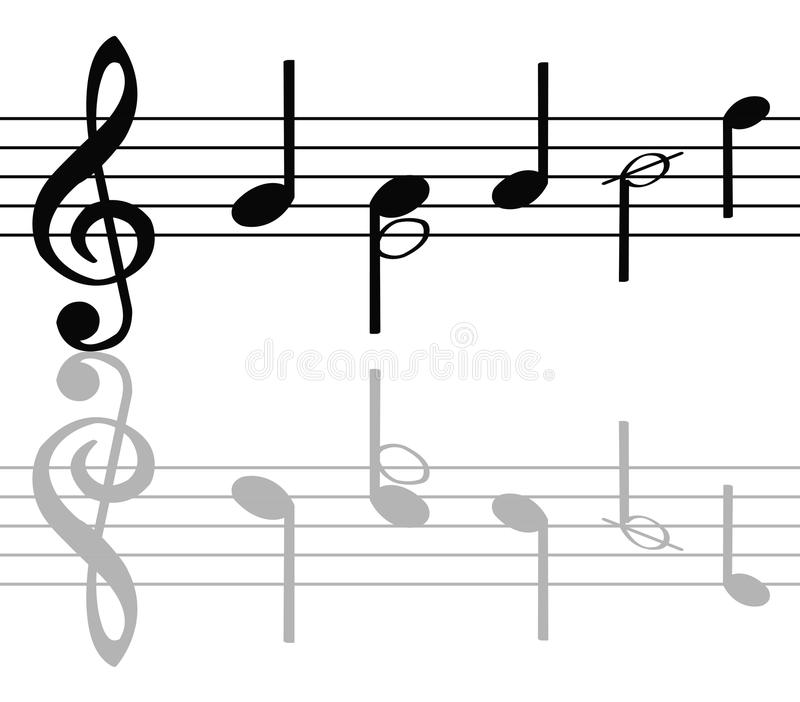 Download Music notes stock vector. Illustration of composition - 15274335