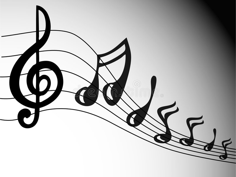 Download Music Notes Royalty Free Stock Photos - Image: 1703968