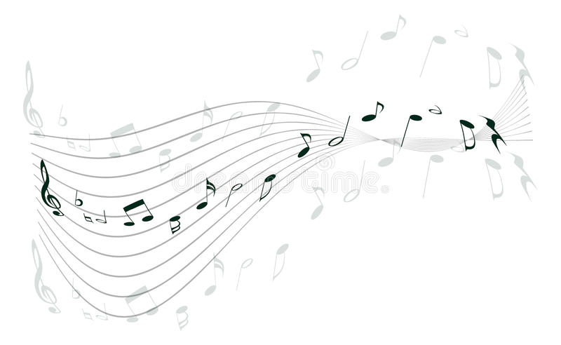 Download Music notes stock vector. Illustration of animation, banner - 18031961