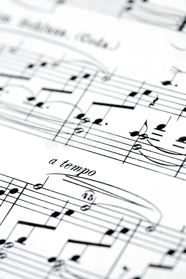 Free Music Notes Stock Photo - 1816740