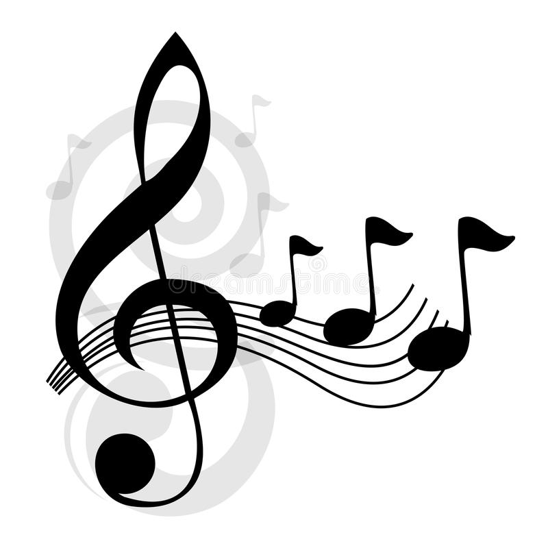 Download Music notes stock vector. Image of clipart, classic, note - 29124489