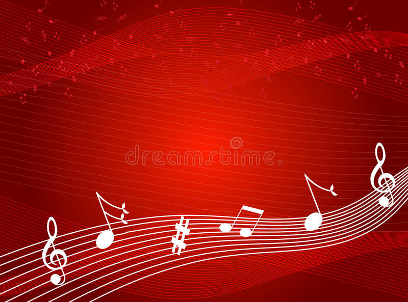 Color Notes Background 01 Vector Free Download: Music Notes Background Stock Vector. Image Of Melody