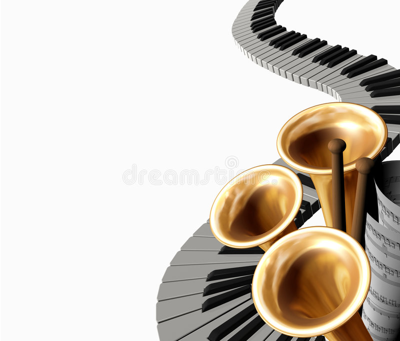 Download Music one stock illustration. Image of orchestra, drum - 4252149