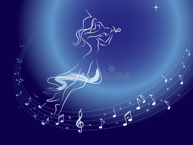 Download Music orbit stock vector. Image of orbit, inspiration - 10301528