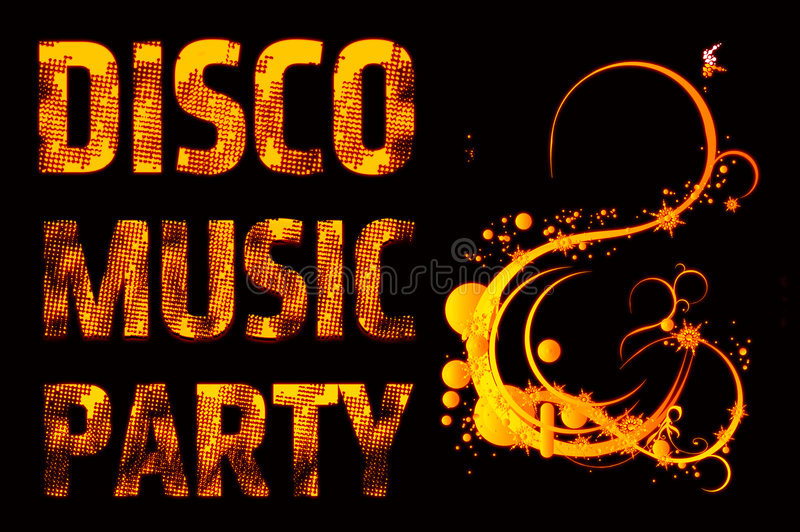Download Music party disco stock illustration. Illustration of entertainment - 8521309