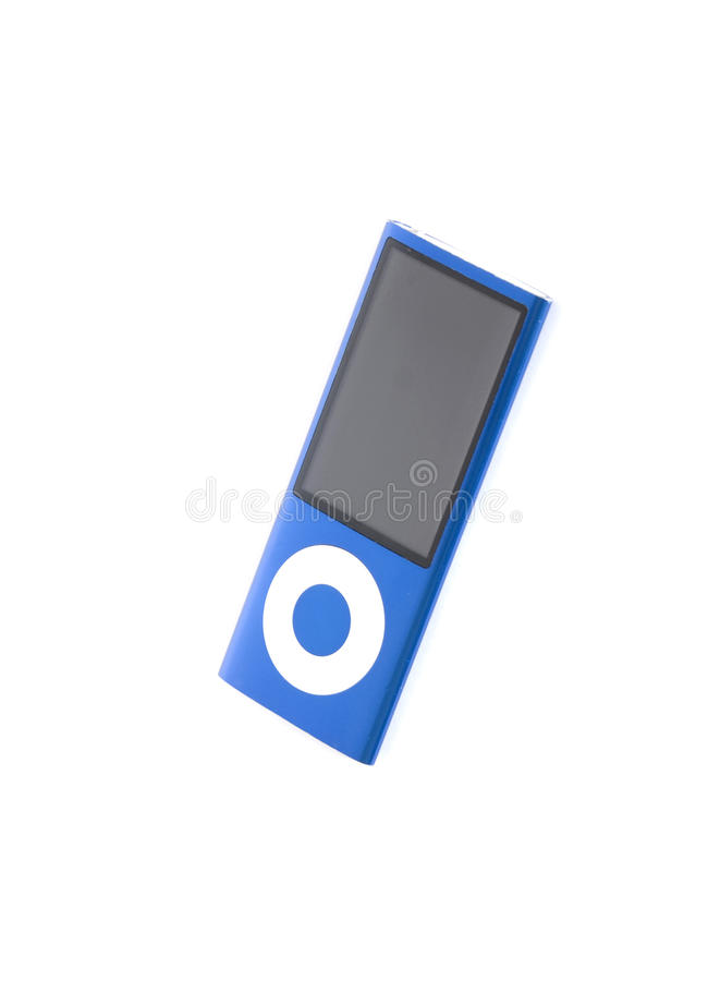 Music Player Editorial Stock Image