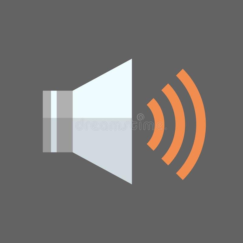 Music Player Icon Audio Listening App Button royalty free illustration