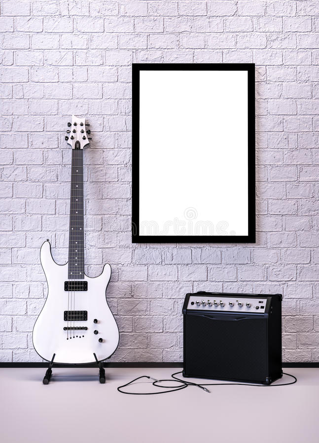 music poster иллюстрация штока