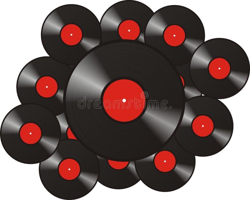 Download Music Record stock illustration. Illustration of disco - 13388318