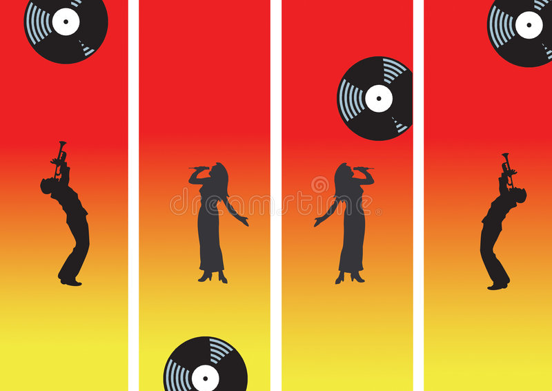 Download Music with record stock illustration. Image of instruments - 2315904