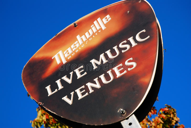 Music Row, Nashville royalty free stock photography