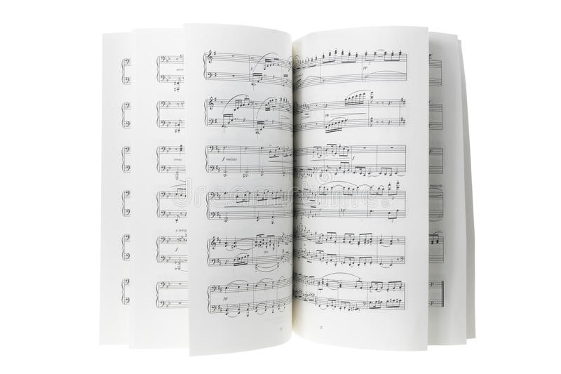 Download Music Score stock photo. Image of arrangement, isolated - 24052402