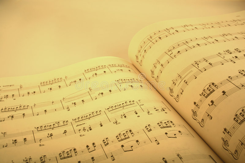 Download Music score stock image. Image of anthem, fresh, muzak - 466349