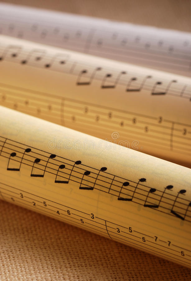Download Music scores stock photo. Image of concert, concept, document - 25707860
