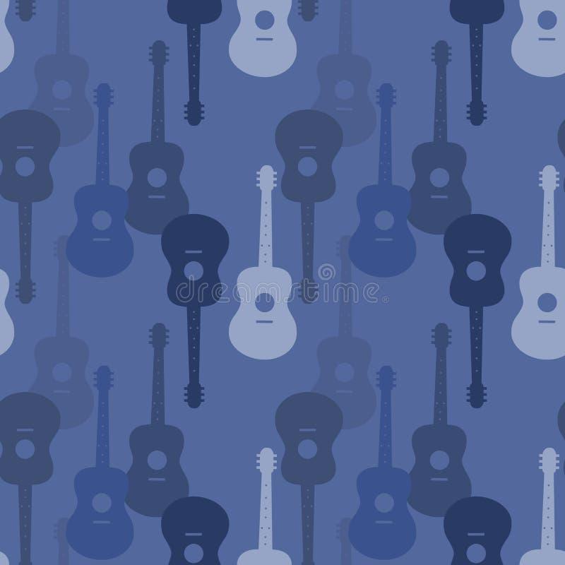 Music seamless pattern royalty free illustration