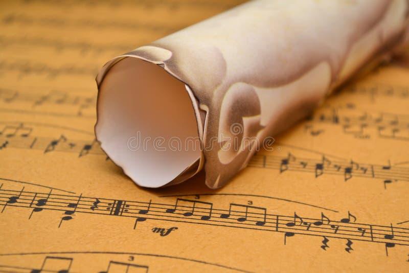 Download Music sheet stock illustration. Illustration of musician - 22473259