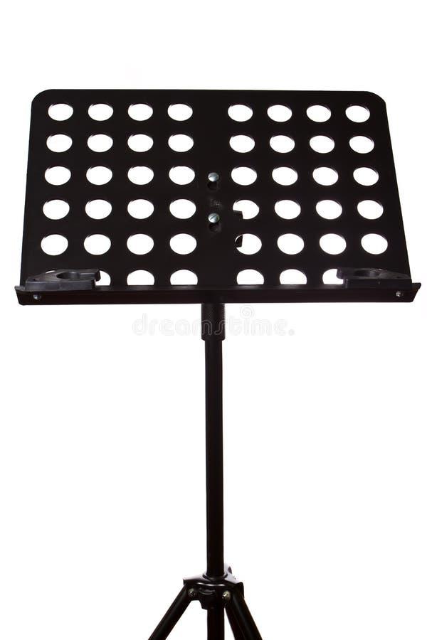 Music sheet stand stock image