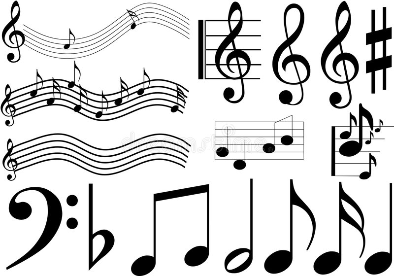 Download Music Signs Royalty Free Stock Photo - Image: 4280005