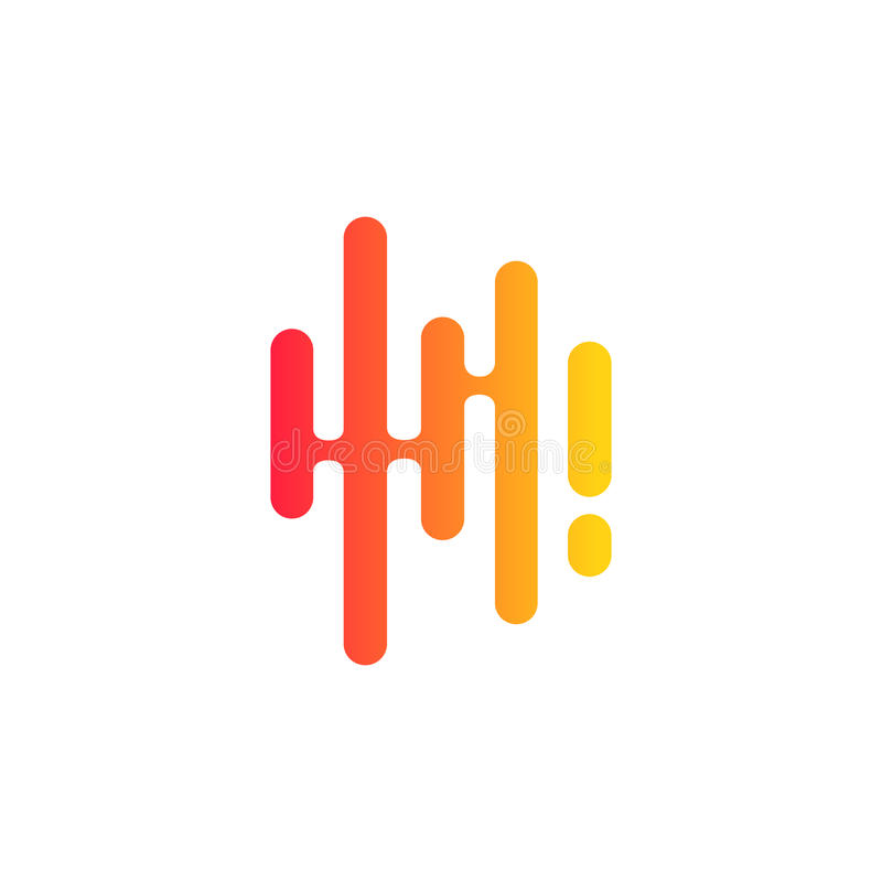 music sound wave audio technology vector illustration stock vector rh dreamstime com sound wave vector free sound wave vector png