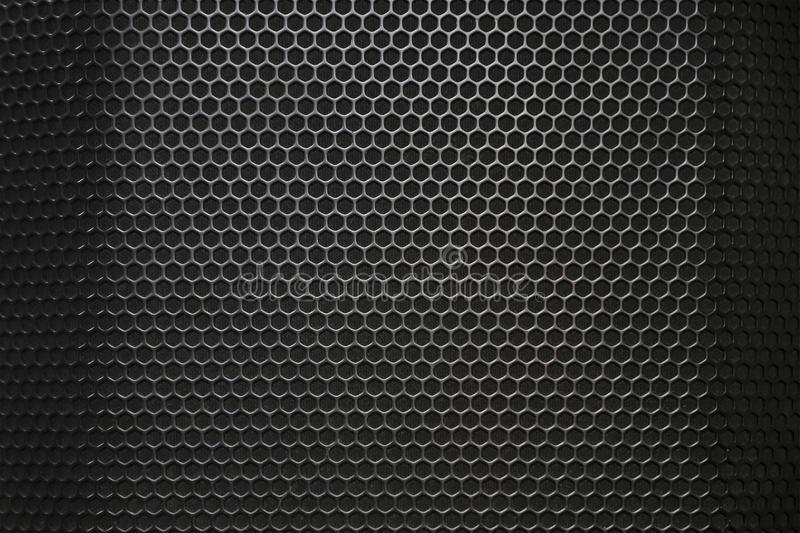 Music speakers texture, close up. royalty free stock image