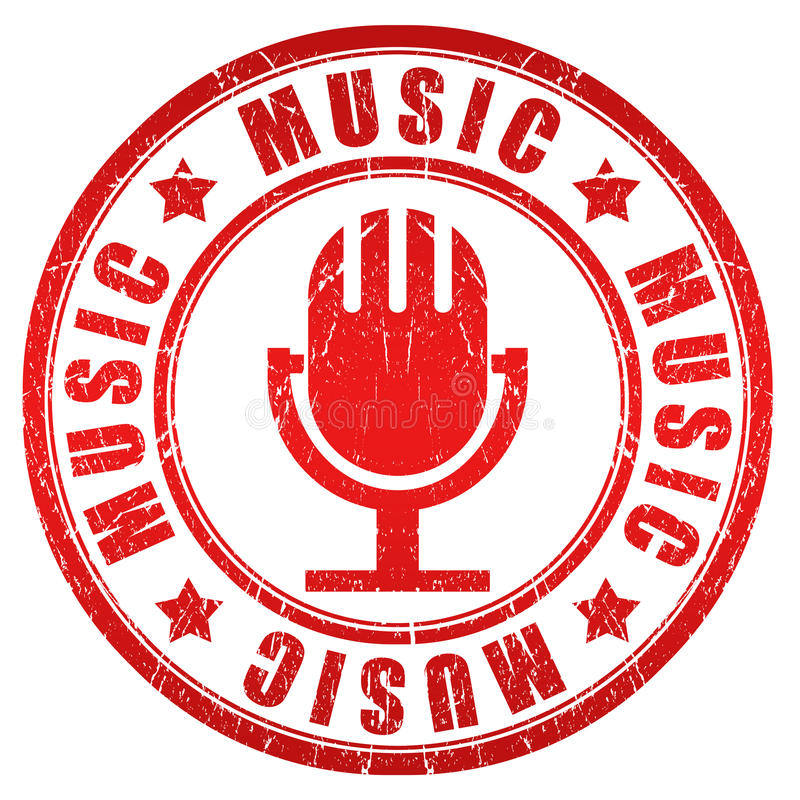 Download Music Stamp Stock Photos - Image: 25303793