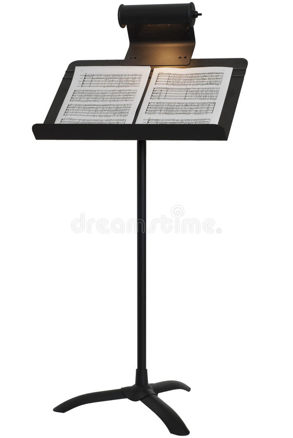 Download Music Stand stock image. Image of music, notes, light - 15670393