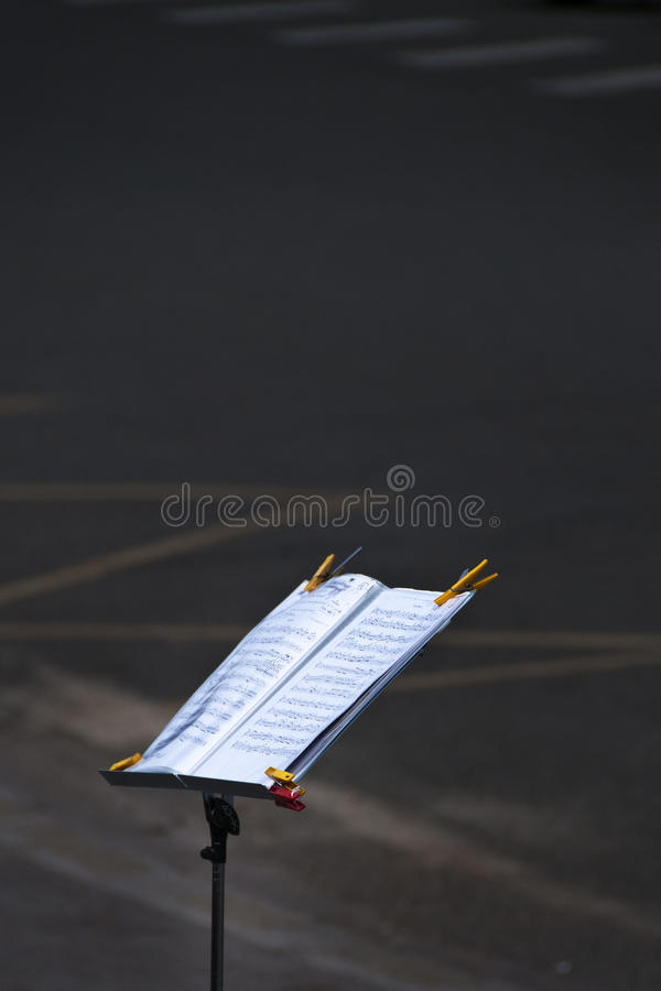 Download Music Stand stock image. Image of paris, yellow, music - 19771509