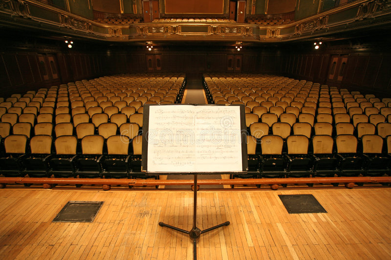 Download Music stand stock image. Image of empty, opera, seat, inside - 2862475
