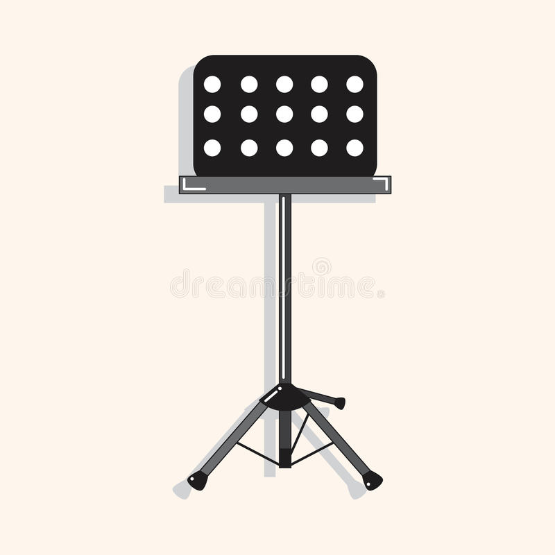 Free Music Stand Theme Elements Vector,eps Royalty Free Stock Photos - 51866998