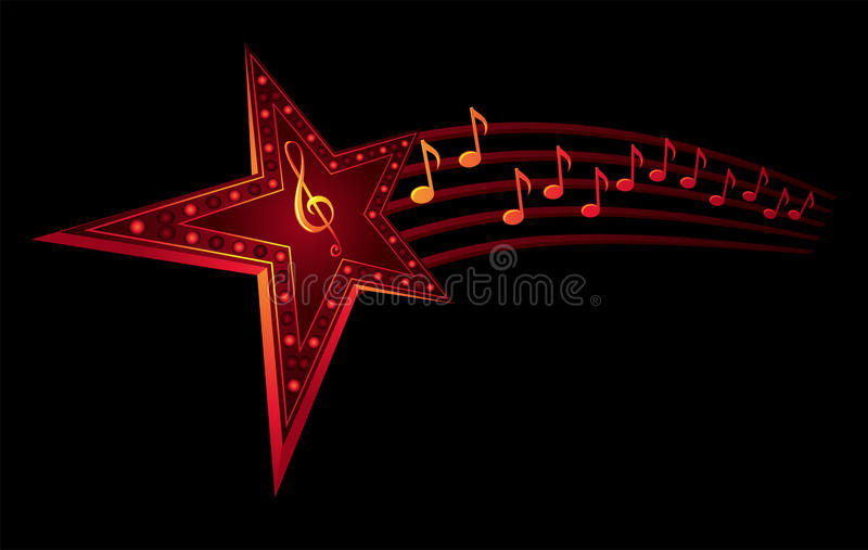 Download Music star stock vector. Image of musical, composition - 11147017