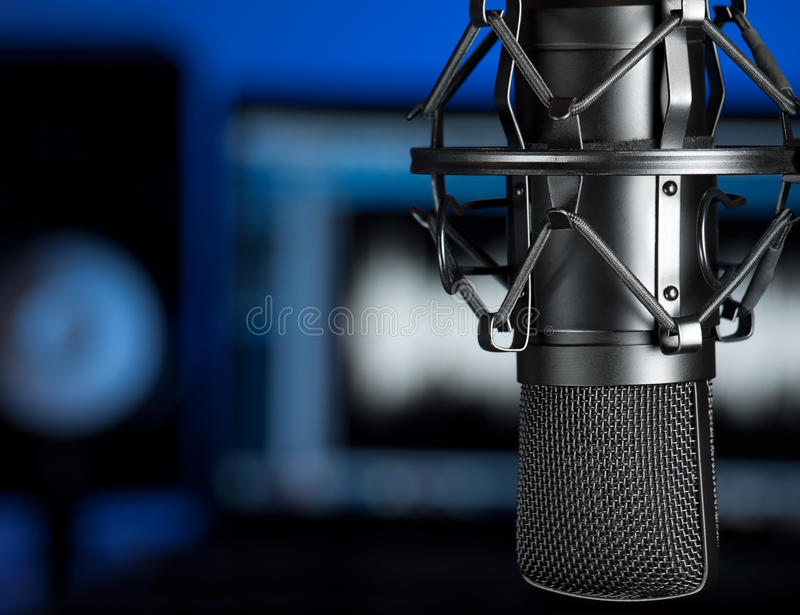 Music studio royalty free stock photos