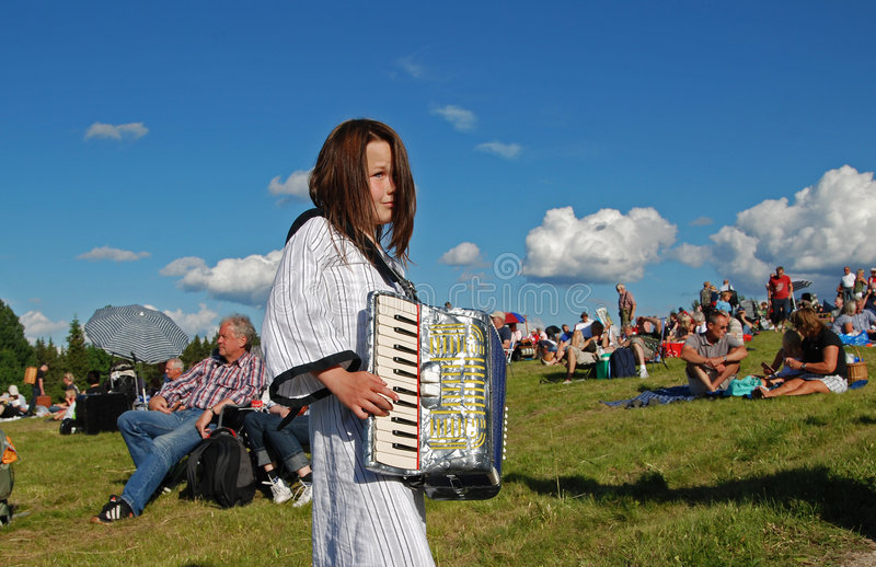 Download Music in Sweden editorial stock image. Image of people - 7423639