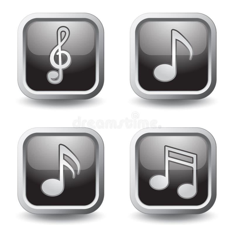 Download Music symbols stock vector. Illustration of blossom, glass - 23462314